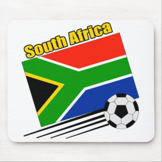 South Africa Soccer Team Mouse Mats