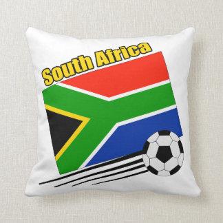 South Africa Soccer Team Pillow