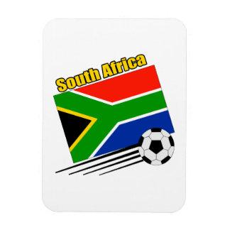 South Africa Soccer Team Rectangular Photo Magnet
