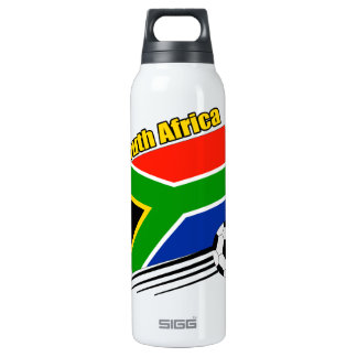 South Africa Soccer Team 16 Oz Insulated SIGG Thermos Water Bottle