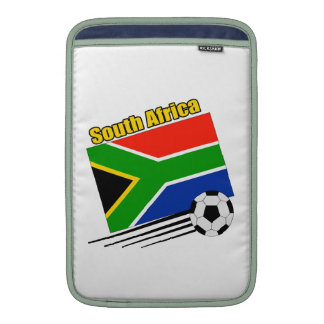 South Africa Soccer Team Sleeves For MacBook Air