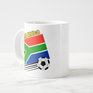 South Africa Soccer Team 20 Oz Large Ceramic Coffee Mug