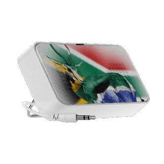 South Africa Springbuck Flag Doodle Speaker