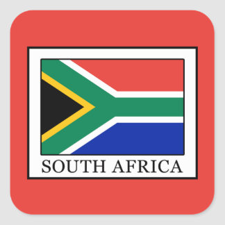 South Africa Square Sticker