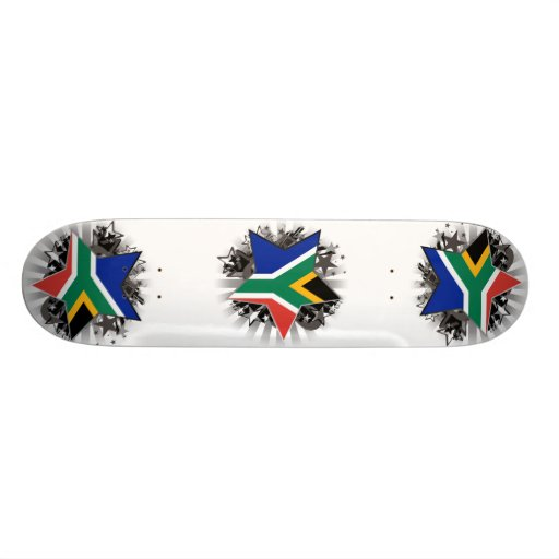 South Africa Star Custom Skate Board