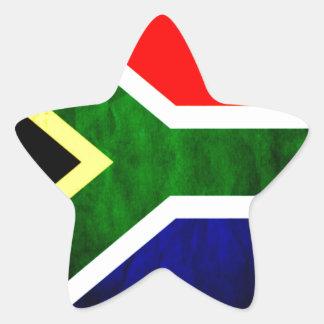 South Africa Star Sticker
