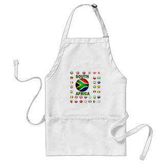 South Africa T-Shirts d7 Adult Apron