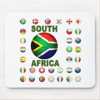 South Africa T-Shirts d7 Mouse Pad