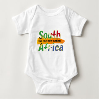 South Africa - the Rainbow Nation Baby Bodysuit