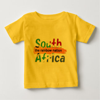 South Africa - the Rainbow Nation Baby T-Shirt