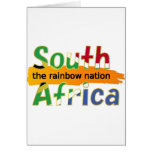 South Africa: the rainbow nation Greeting Card
