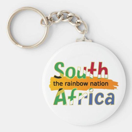 South Africa: the rainbow nation Keychain