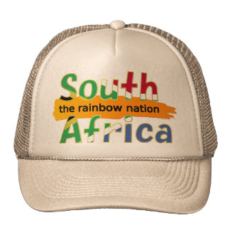 South Africa - the Rainbow Nation Mesh Hat