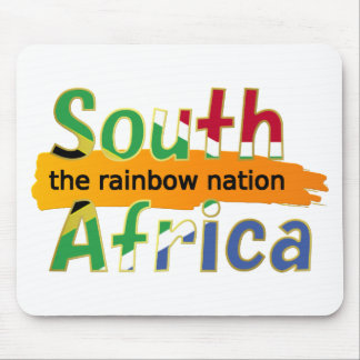 South Africa - the Rainbow Nation Mouse Pad