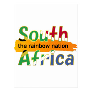 South Africa: the rainbow nation Postcard