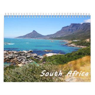 South Africa Travel Destination Photo Calendar