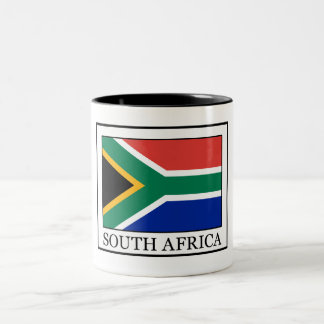 South Africa Two-Tone Coffee Mug