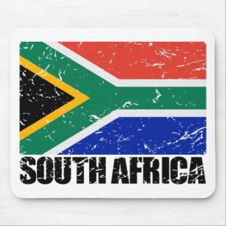 South Africa Vintage Flag Mousepad