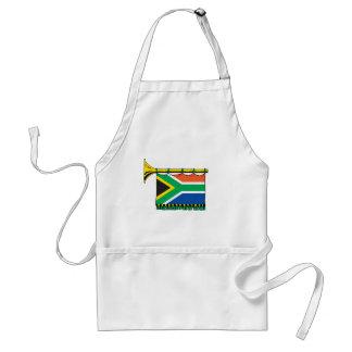 South Africa vuvuzela Adult Apron