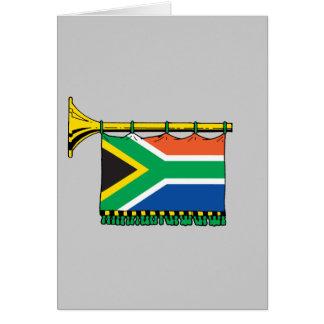 South Africa vuvuzela Cards
