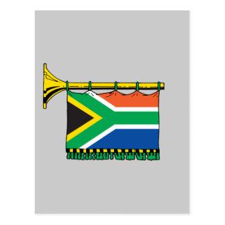 South Africa vuvuzela Postcard