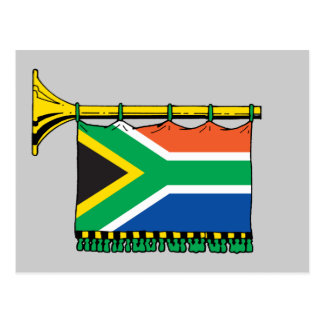 South Africa vuvuzela Postcards
