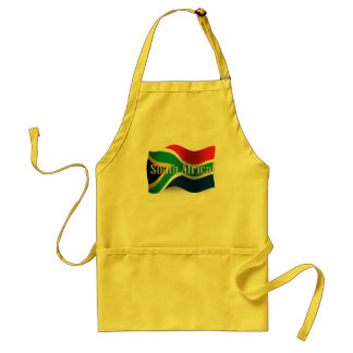 South Africa Waving Flag Apron