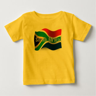 South Africa Waving Flag Baby T-Shirt