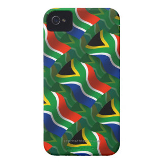 South Africa Waving Flag iPhone 4 Covers