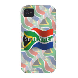 South Africa Waving Flag iPhone 4 Case