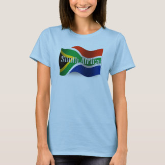 South Africa Waving Flag T-Shirt