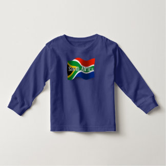 South Africa Waving Flag Toddler T-shirt
