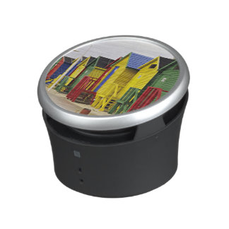 South Africa, Western Cape, St James. Colorful Bluetooth Speaker