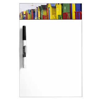 South Africa, Western Cape, St James. Colorful Dry Erase Board