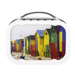 South Africa, Western Cape, St James. Colorful Lunchboxes