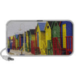 South Africa, Western Cape, St James. Colorful Portable Speaker