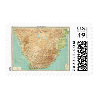 South Africa with shipping routes Postage