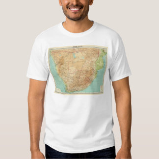 South Africa with shipping routes T-Shirt