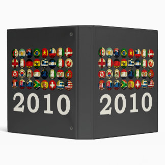 South Africa World 2010 3 Ring Binders