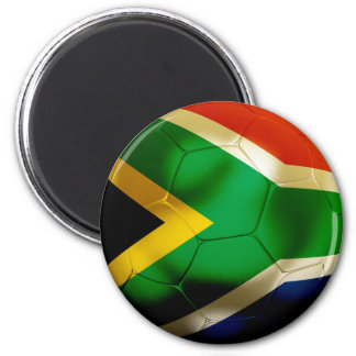 South Africa World 2 Inch Round Magnet