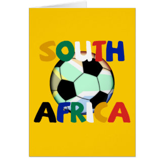 South Africa World Cup Soccer Card