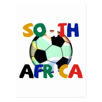 South Africa World Cup Soccer Postcard