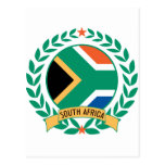 South Africa Wreath Postcards