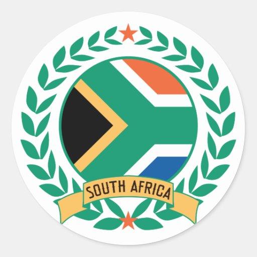South Africa Wreath Sticker