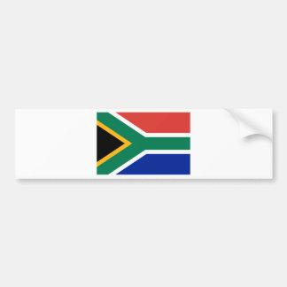 South Africa ZA Car Bumper Sticker
