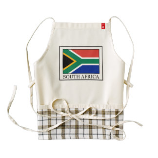 South Africa Zazzle HEART Apron