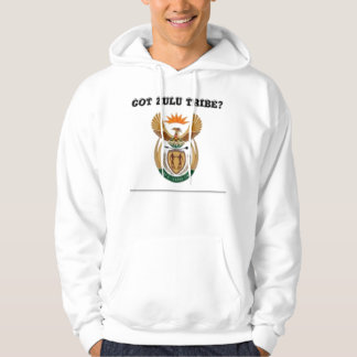 South africa (zulu tribe) hooded pullover