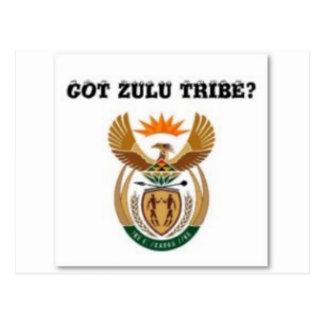 South africa (zulu tribe) postcards