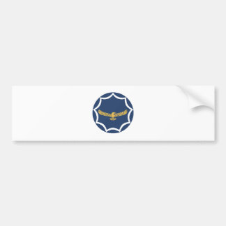 South African Air Force Roundel Patch Bumper Sticker