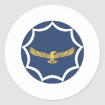 South African Air Force Roundel Patch Classic Round Sticker